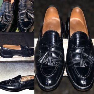 ALLEN EDMONDS Pembrooke Leather Tassel Loafers10 D